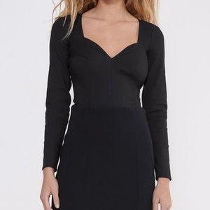 Zara Sweetheart Neckline Bodysuit Size XS